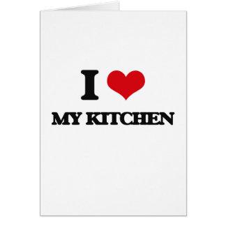 I Love My Kitchen Cards