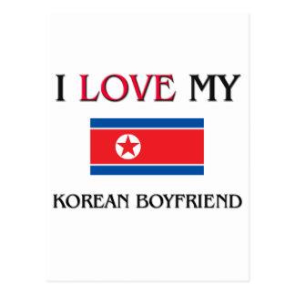 I Love My Korean Boyfriend Postcards