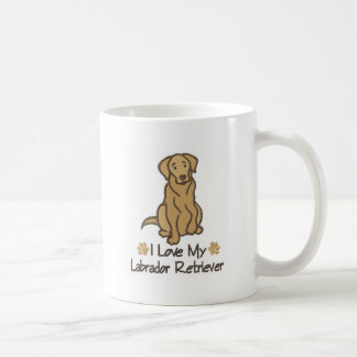 I Love my Labrador Retriever Mug