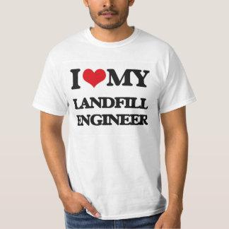 I love my Landfill Engineer Tee Shirt