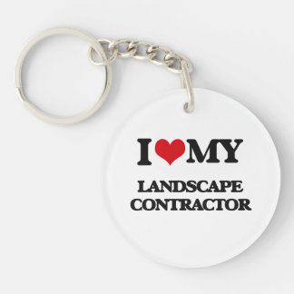 I love my Landscape Contractor Key Chain