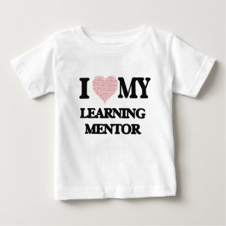 I love my Learning Mentor (Heart Made from Words) Tee Shirts