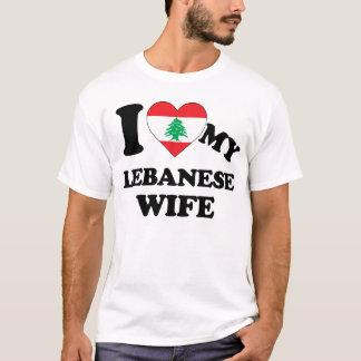 I love my Lebanese Wife T-Shirt