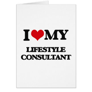 I love my Lifestyle Consultant Cards