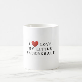 I love my Little Sauerkraut Coffee Mug