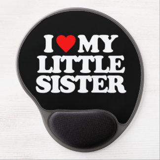 I LOVE MY LITTLE SISTER GEL MOUSE MATS
