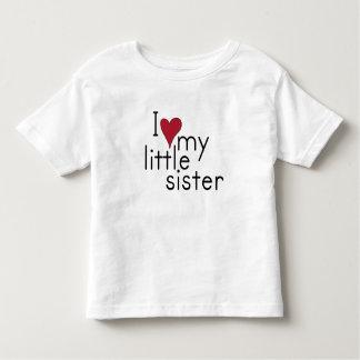 I Love my little sister Toddler T-Shirt