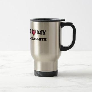 I love my Locksmith Travel Mug
