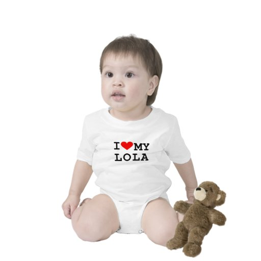 I love my lola tee shirt