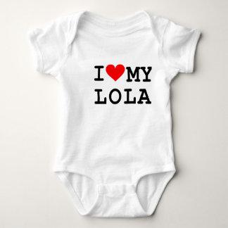 I love my lola tshirt