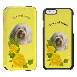 I Love My Lowchen and Yellow Roses Incipio Watson™ iPhone 6 Wallet Case