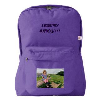 i love my lupdog backpack