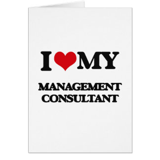 I love my Management Consultant Card