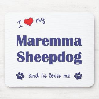 I Love My Maremma Sheepdog (Male Dog) Mouse Mat