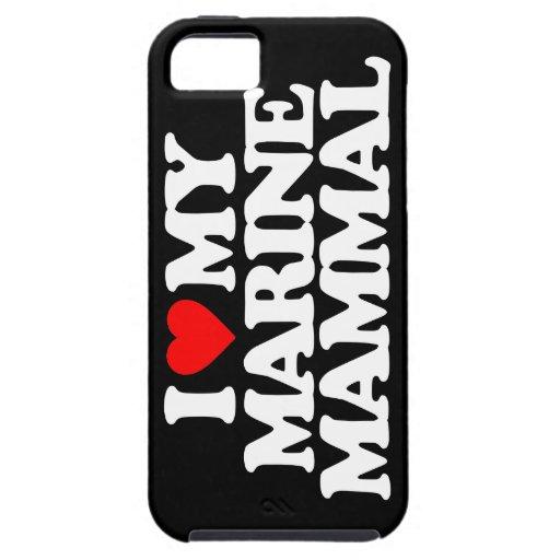 I LOVE MY MARINE MAMMAL iPhone 5 COVER