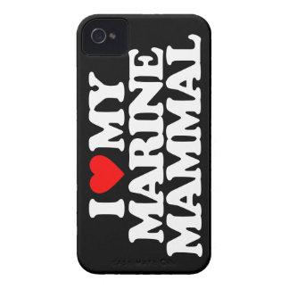I LOVE MY MARINE MAMMAL iPhone 4 COVERS