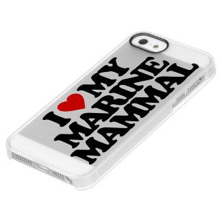 I LOVE MY MARINE MAMMAL PERMAFROST® iPhone SE/5/5s CASE