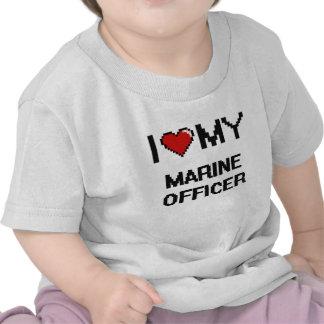 I love my Marine Officer T Shirt