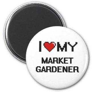 I love my Market Gardener 2 Inch Round Magnet