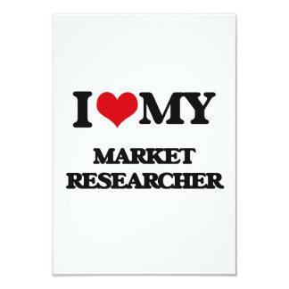 I love my Market Researcher Personalized Invitations
