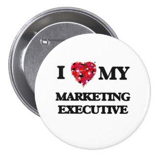 I love my Marketing Executive 7.5 Cm Round Badge