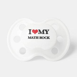 I Love My MATH ROCK BooginHead Pacifier