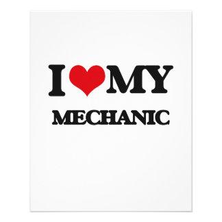I love my Mechanic Personalized Flyer