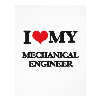 I love my Mechanical Engineer Flyer Design