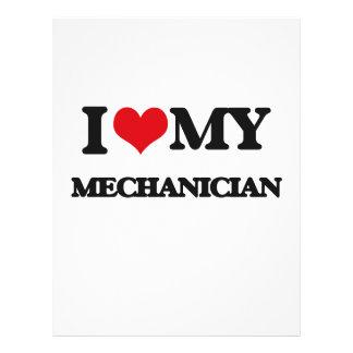 I love my Mechanician Flyer Design
