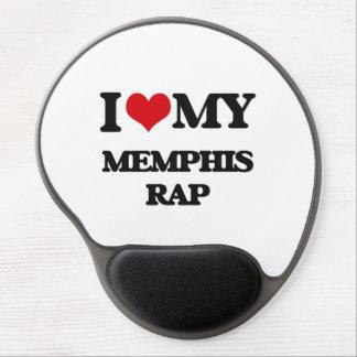 I Love My MEMPHIS RAP Gel Mousepad