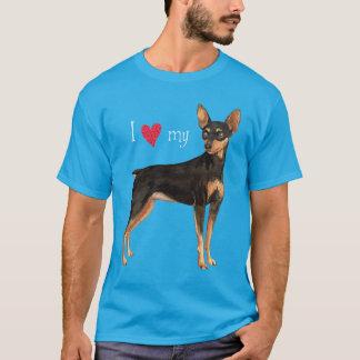 I Love my Min Pin T-Shirt