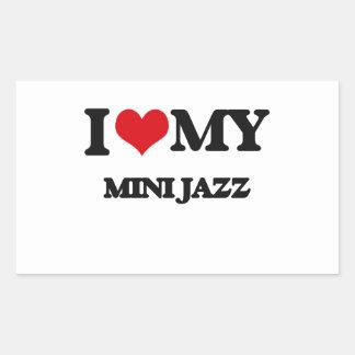 I Love My MINI JAZZ Sticker