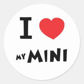 I love my mini sticker