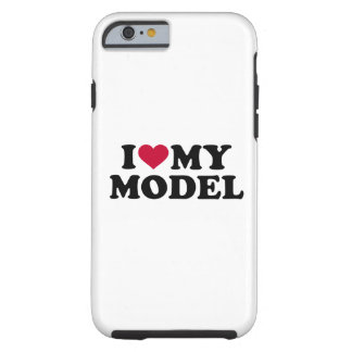 I love my model tough iPhone 6 case