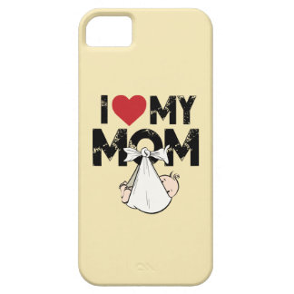 I Love My Mom Case For The iPhone 5