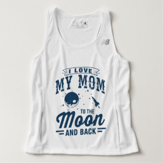 I Love My Mom To The Moon And Back Singlet