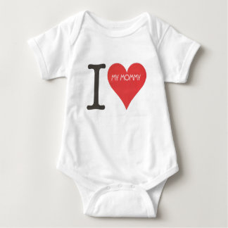 I LOVE MY MOMMY - Baby Jersey Bodysuit