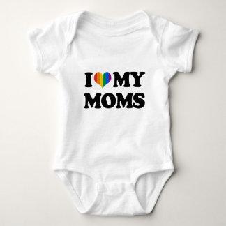 I LOVE MY MOMS BABY BODYSUIT
