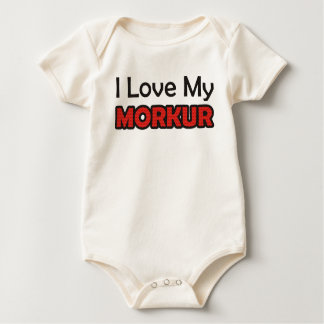 I Love My Morkur Baby Bodysuit