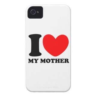 I Love My Mother iPhone 4 Case-Mate Cases