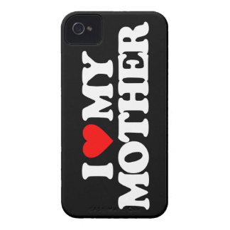 I LOVE MY MOTHER Case-Mate iPhone 4 CASES