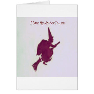 I love my mother in law1 card