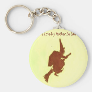 I love my mother in law key ring