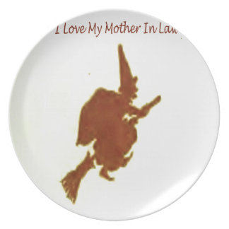 I love my mother in law plate