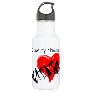 I Love My Mountains! 532 Ml Water Bottle