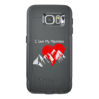 I Love My Mountains! OtterBox Samsung Galaxy S6 Case