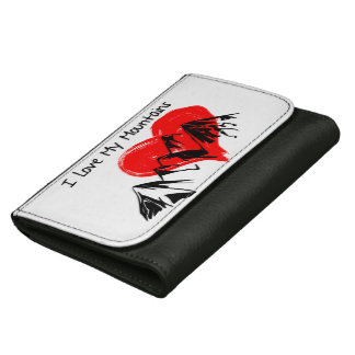 I Love My Mountains! Women's Wallet