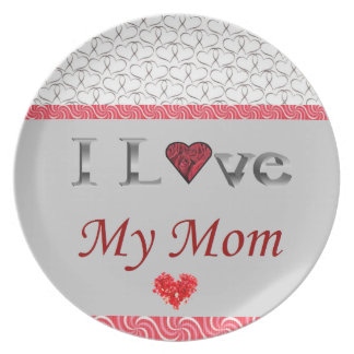 """""""I Love My Mum"""" Collectable Plate"""