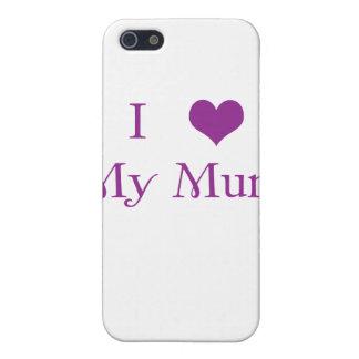 I Love my Mum iPhone Case iPhone 5/5S Case