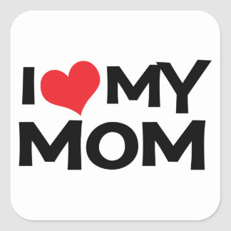 I Love My Mum Mother's Day Sticker